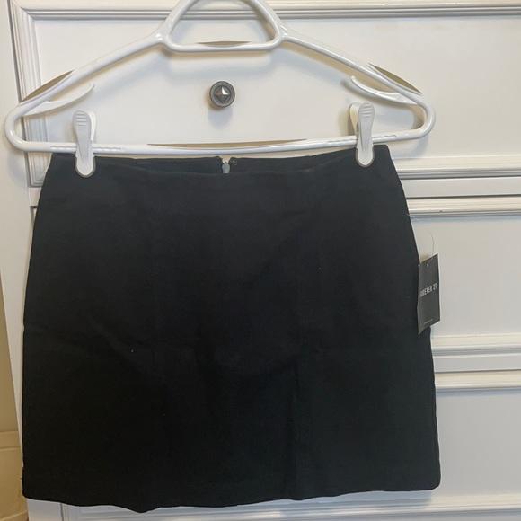 Forever 21 Black Mini Skirt size M